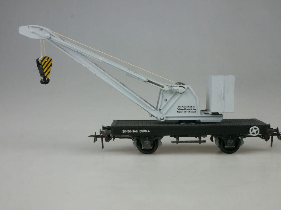 Piko Dietzel H0 DC Kranwagen 2achsig  PFR 114087