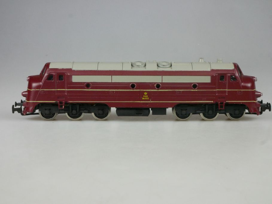 Piko H0 DC Diesellok My 1122 Nohab der DSB Dansk Lok PFR 114093