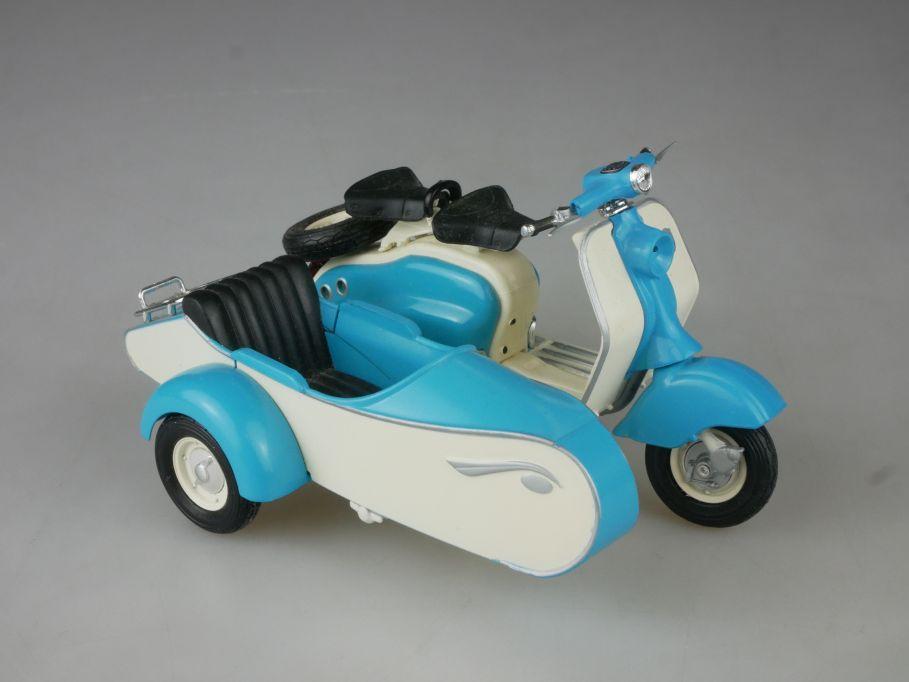 Solido 1/18 Lambretta LD 125 1958 Motorrad mit Beiwagen diecast 114100
