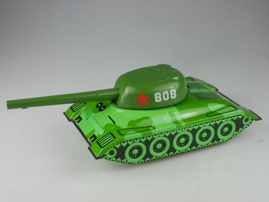 CCCP USSR tin toy tank Blech Panzer Battery operated 808 Spielzeug DDR 114112