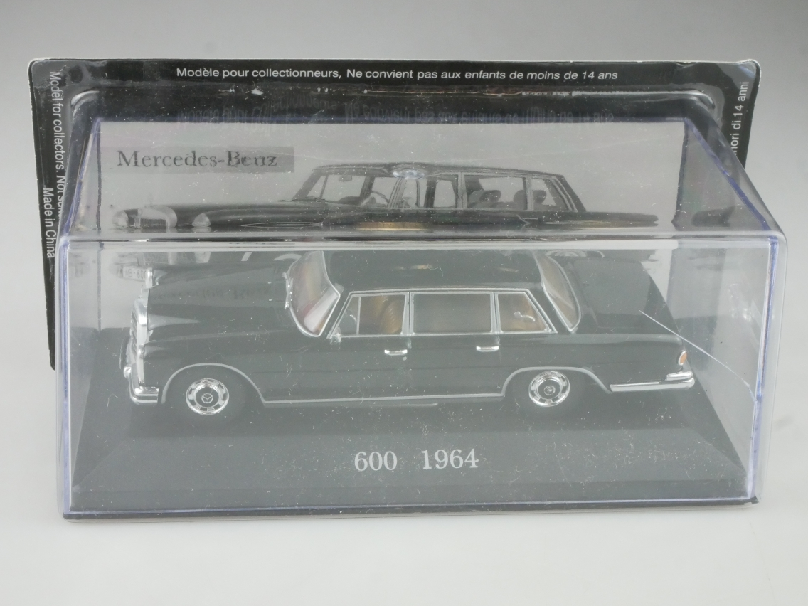 Mercedes Benz 600 1964 1/43 Collection Agostini in Box - 114132