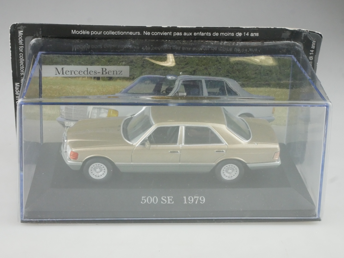 Mercedes Benz 500 SE 1979 1/43 Collection Agostini in Box - 114133