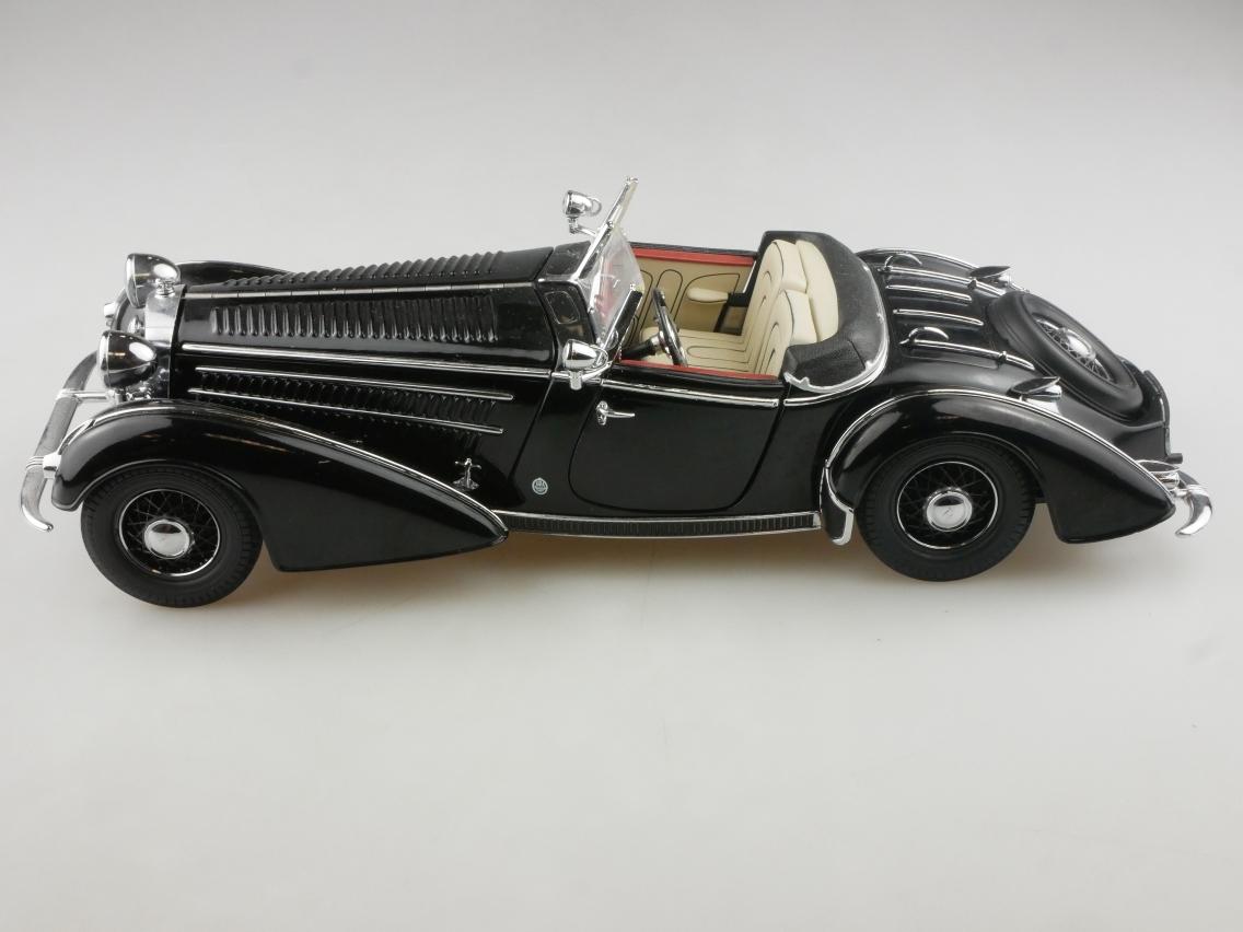 Sun Star 1/18 1938 Horch 855 Modellauto ohne Box - 114204