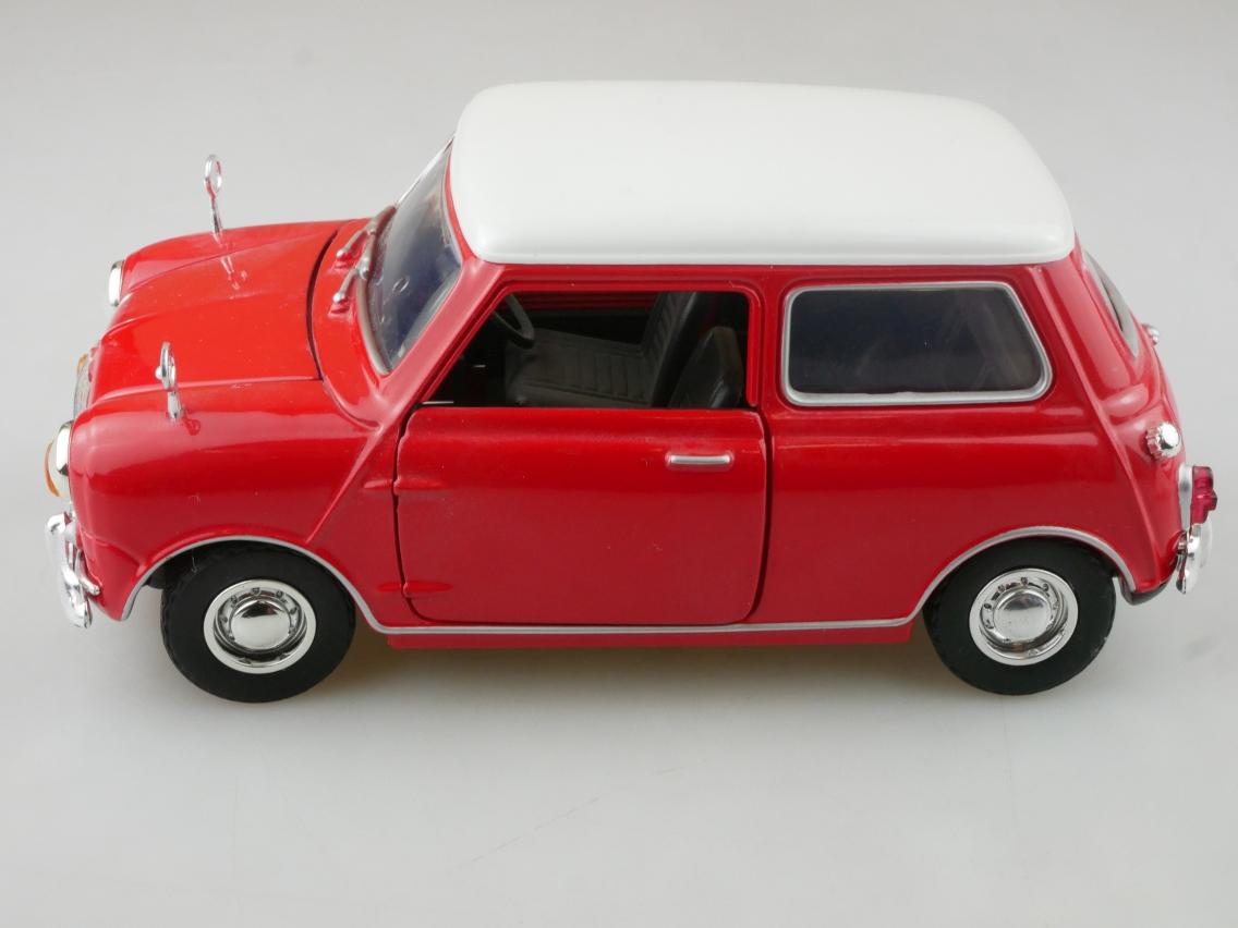 Motor Max 1/18 Austin Mini Cooper Modellauto ohne Box - 114229