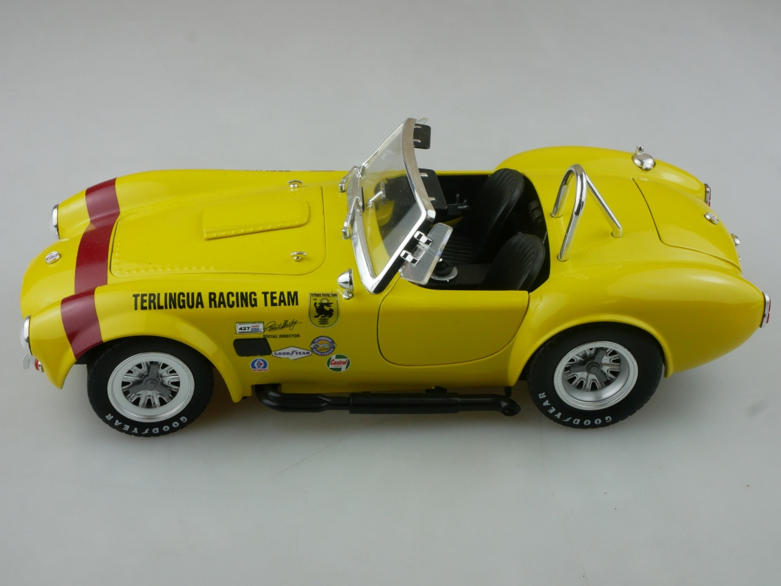 Shelby Collectibles 1/18 Cobra 427 S/C Terlingua Racing Team OHNE Box 114231