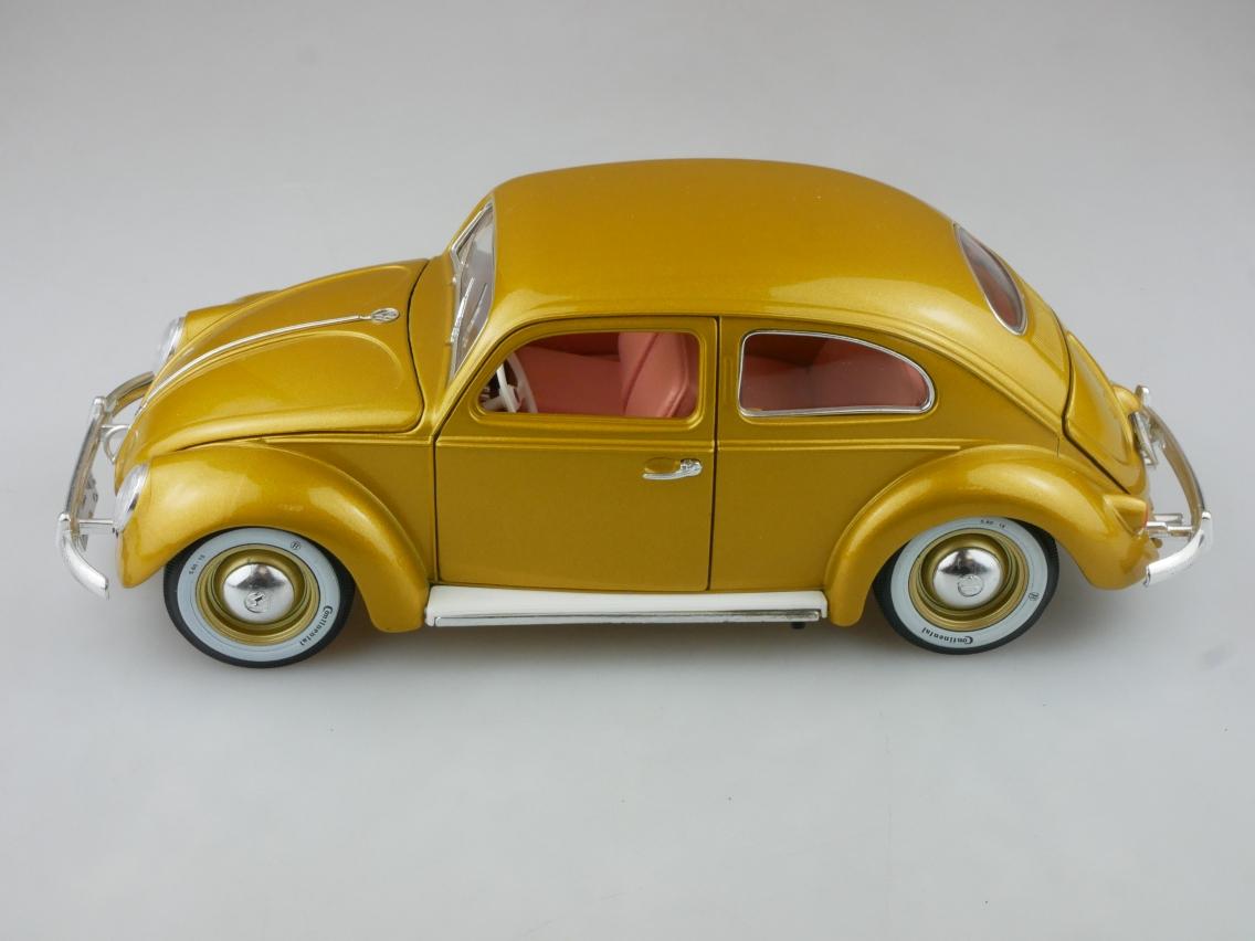 Bburago 1/18 Volkswagen Beetle 1955 1 Million VW Käfer ohne Box - 114237
