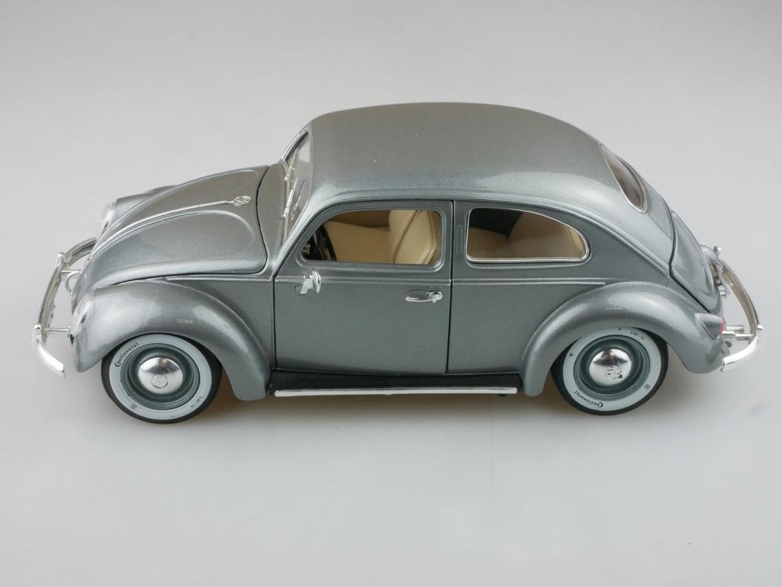 Bburago 1/18 VW Käfer Beetle 1955 Modellauto ohne Box - 114238
