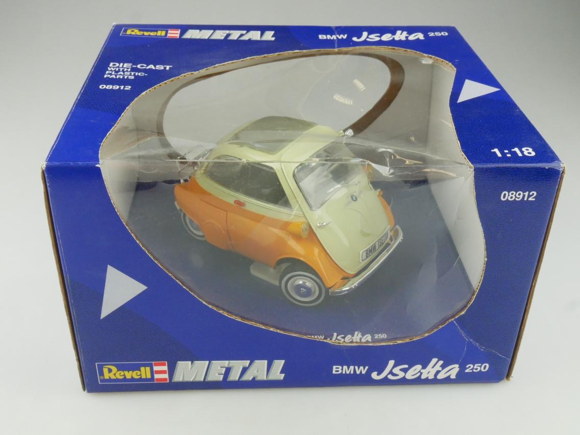 Revell 08912 1/18 BMW Isetta 250 Modellauto mit Box - 114197
